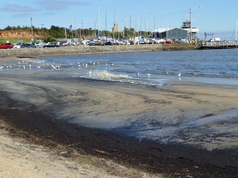 Mothers Beach & Harbour after dredging